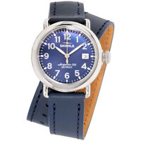 Shinola The Runwell Quartz Movement Blue Dial Ladies Watch S0120109244