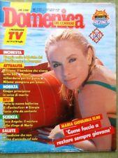 La Domenica del Corriere 28 Luglio 1988 Agostini Fiorio Illy Demetrios Falcon Tv