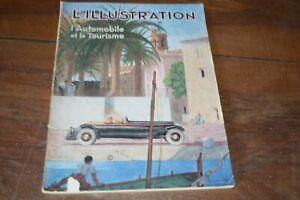 Revue L'Illustration N°4727 - Spécial Automobile - 1933 - 118 pages