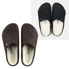 Women Birkenstock Zermatt Wool Shearling Slip On Shoes Comfort Clogs NEW