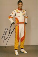 Adam Khan Hand Signed 12x8 Photo - Formula 1 Autograph Renault - F1 1.