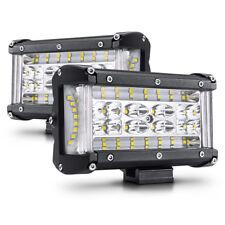 "5""INCH Side Shooter Cree LED Work Light Pods Fog Lamps Offroad Jeep SUV ATV UTV"