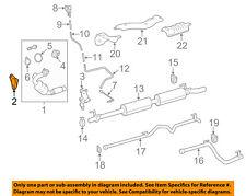 MERCEDES OEM 07-09 E320 3.0L-V6 Exhaust-Converter & Pipe Gasket 2194920080