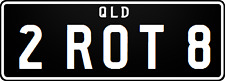MAZDA ROTARY NUMBER PLATE (ROTATE,TURN,SPIN)