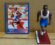 1996 MICHAEL JOHNSON TIMELESS LEGENDS  STARTING LINEUP Figurine As Shown-