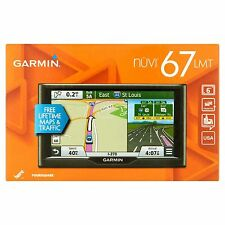 Garmin Nuvi GPS Navigator 67LM Free Lifetime Maps Car 6 Inch Wireless Portable