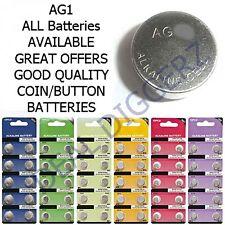AG1 364 LR621 164 531 SR60 SR62 Battery Alkaline Cell Coin Watch UK
