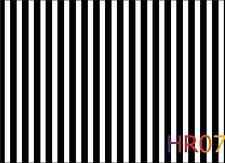 7x5ft Black & White Stripe Studio Backdrop Photography Props Background HR07