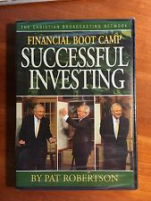 NEW SEALED! Financial Boot Camp: Successful Investing TBN Pat Robertson DVD