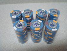 175 pcs Las Vegas Poker Room Poker Chip $ 50 Blue 14 Gram