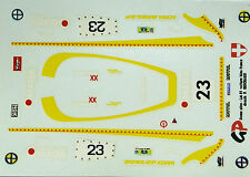 decals 1/43: Dome O Le Mans 1981 N°23