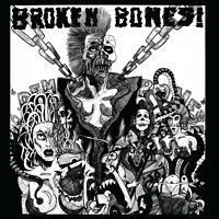 Broken Bones 'Dem Bones'/'Decapitated' CD '84 debut + singles '83-86 x-Discharge