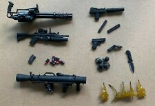 24pcs Punisher Weapons Accessories Guns Rifles for 6