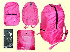 extraleichter faltbarer Rucksack BAG in BAG  Rucksack in Tasche  43x30x13 NEU
