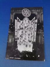 REAL PHOTO POSTCARD ROTARY INTERNATIONAL OSCAR CHICAGO 50TH ANNIVERSARY