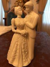 Vintage Lenox Wedding Promises Collection Bride & Groom Cake Topper Figurine Usa
