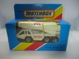 "1981 MATCHBOX ""NASA"" DIECAST TOY-MACAU"