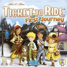 Ticket To Ride First Journey Europe Board Game Days Of Wonder DOW DO7227 Kids