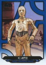 Star Wars Galactic Files Reborn Blue Parallel Base Card ANH-2 C-3PO