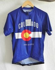 Bontrager Trek Bicycle Colorado Short Sleeve Fitted Full Zip Semi-Custom Size M