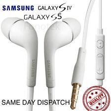 Generic Samsung Galaxy S3 S4 S5 Flat In Ear Handsfree Headphones Earphones i9500