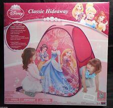 Hideaway Tent DISNEY PRINCESSES Playhouse Hide 'N Seek Fun Easy Setup Portable