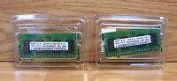 Lot of 2 Genuine Samsung 1GB (M470T2864QZ3-CE6) Memory Sticks Only **READ**