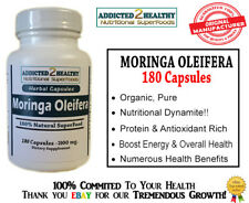 180 Moringa Oleifera Capsules(1000mg)We're Not Re-sellers,TOP Quality & Service