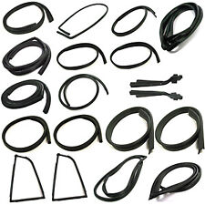 Datsun 240Z, 260Z, 280Z Complete Weatherstrip Rubber Seal Kit - Set of 19 Pieces