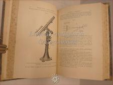 OTTICA: Drude e Boll, PRECIS D'OPTIQUE 2 voll illustrati 1911 Gauthier-Villars