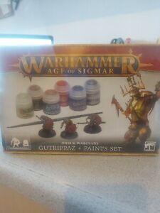 Games Workshop - Warhammer Age of Sigmar - Gutrippaz + Paints Set