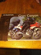 1998 Cagiva 900 Gran Canyon Brochure