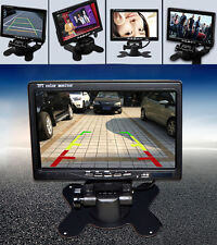 7 Inch Color TFT LCD 800x480 Pixel 2 Channels Video Input Car Rear View Monitor