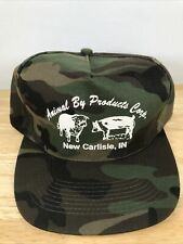 Camouflage Snapback Hat Animal By Products Inc New Carlisle Indiana
