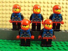 Lego Minifig ~ Lot Of 5 Vintage/Classic Spyrius Astronaut Spacemen #vbyu7 Space