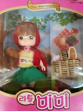 Little mimi fairy tale Korean doll Little Red Riding Hood