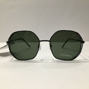 Lucky Brand Sunglasses D946 Black/Green 55 mm Non-Polarized