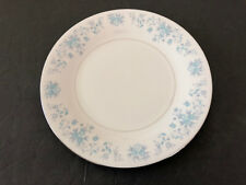 "China Pearl HELEN Blue Flowers, Platinum Trim - 7-1/2"" SALAD PLATE"