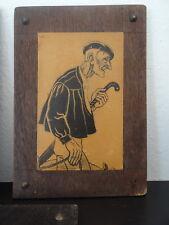 Joli Souvenir du Pays Basque Carte postale Panneau bois Le Tanneur Legal 1950 3