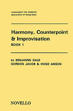 Harmony Counterpoint & Improvisation Learn to Play Beginner Lesson Music Book 1