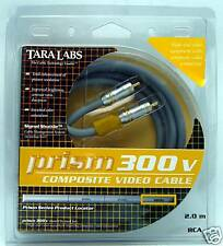 Tara Labs Prism 300 V 2 meter Digital Coaxial or Composite video cable 300v-2M