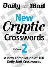 Daily Mail New Cryptic Crosswords vol 2 BRAND NEW BOOK (Paperback 2007)