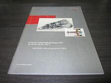 Audi A8 D3  Automatik Getriebe 09E 6 Gang Selbststudienprogramm SSP 283 2002