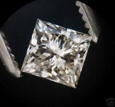 EGL-USA Certed 0.53ct PRINCESS cut Diamond J SI-2