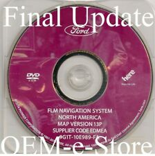 2007-2009 Ford Fusion Mustang Lincoln MKZ Navigation DVD Map 13P Final Update