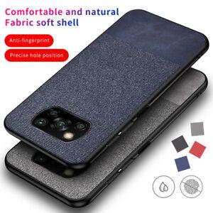 For Xiaomi Poco X3 NFC 11 10  Pro Lite Stitching Cloth Lightweight Phone Case