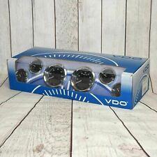Vdo 600 97121 A2 Gauge Set Instrument Cluster Chrome Bezels Ford Free Shipping