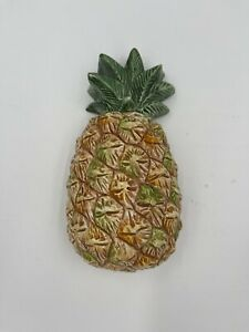 """A Due Tosin Italy Vintage Ceramic Wall Hanging Pineapple 6"""""""