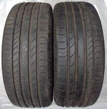 2 pneus d'été CONTINENTAL contisport contact 5 SSR MOE 255/50 R19 103W ra1484