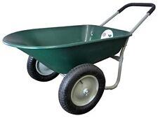 Utility Dump Cart Garden Multipurpose Transporting Items Heavy Duty Lawn Wagon